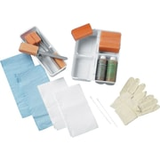 Medline Wet Skin Scrub E-Kits Without Gloves, 20/Pack