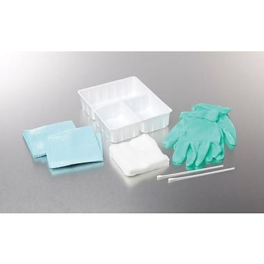 Medline Dry Skin Surgical Scrub Trays with Gauze, 20/Pack