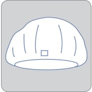 "Invisishield™ Circular Banded Bags, 26"" L x 13"" W"