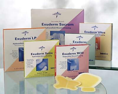Exuderm® Lp Thin Hydrocolloid Dressings, 6