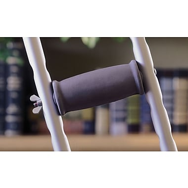 Guardian® Crutch Hand Grip, Gray, Standard Aluminum Crutches Compatible