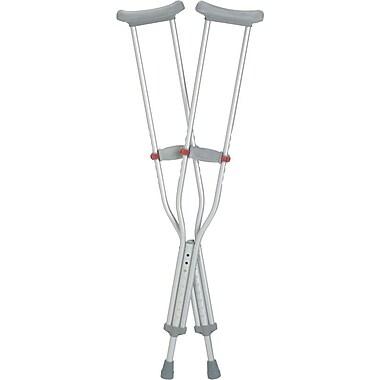 RedDot® Aluminum Crutch, Youth, 8/Pack