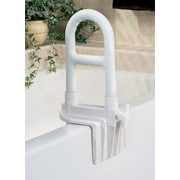 "Medline Bathtub Grab Bars, 8"" L, White, 2/Pack"
