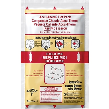 Rapid Aid Accu-Therm™ Instant Hot Compress, 10