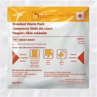 Rapid Aid Instant Warm Packs, 6