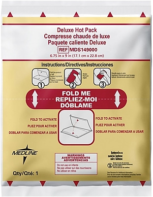 Rapid Aid Deluxe Instant Hot Compress, 9