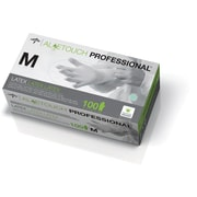 "Aloetouch® Latex Exam Gloves, Green, Medium, 9"" L, 1000/Pack"