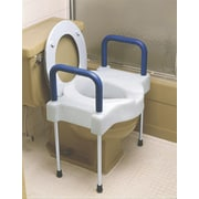 "Medline X-wide Raised Toilet Seats, 4"" H Seat"