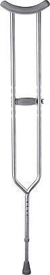 Medline Bariatric Axillary Crutches, Adult, 2/Pack