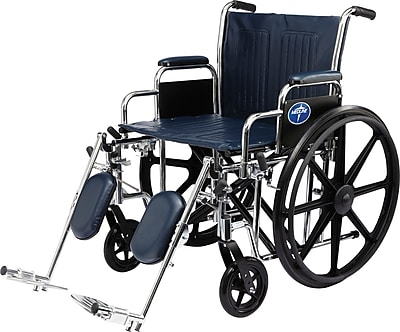 Medline Excel Extra-wide Wheelchair, 20