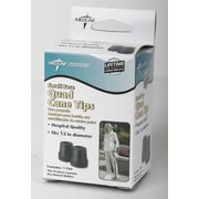 """Guardian® Quad Cane Tip, Gray, 1/2"""" I.D. Tip, 8/Pack"""