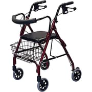 Guardian® Deluxe Rollators, Blue, Each