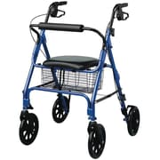 "Guardian® Rollator with 8"" Wheels, Blue, Each"