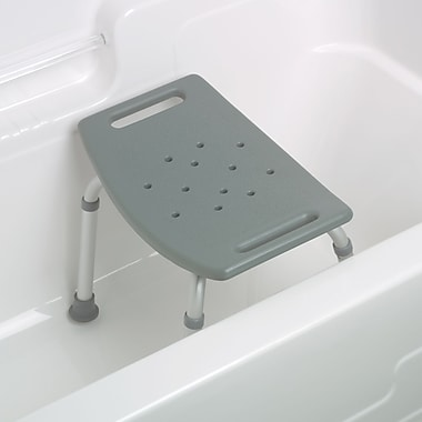 Guardian® Assembled Bath Benches without Backs, 250 lb