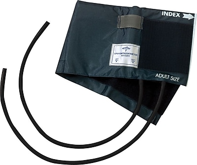 Medline Double Tube PVC Inflation Bags and Nylon Range Finder Cuffs, Adult 5 3/4