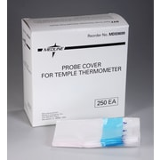 Medline Temple Thermometers Probe Covers, Latex, 1000/Pack