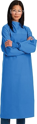 Medline SteriCloth Large Critical Coverage Gowns, Ceil Blue (MDT012062L)