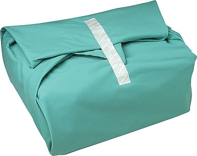 AngelStat™ Gore Hemmed Wrappers, Jade Green, Misty Green Stitching, 54