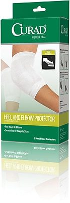 Curad® Heel and Elbow Protectors, Elastic, 4/Pack