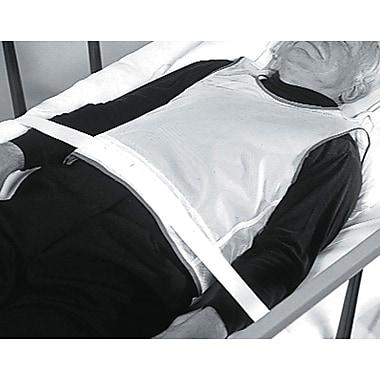 Medline Tie-back Patient Safety Vests, Large, 6/Pack