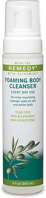 Remedy® Olivamine Foaming Body Cleansers, 9 oz, 12/Pack