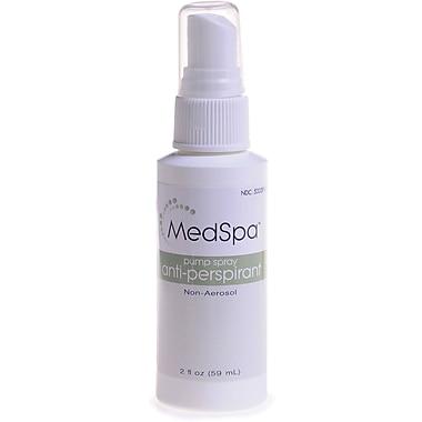 MedSpa™ Pump Spray Antiperspirant/Deodorants, 2 oz, 48/Pack