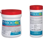 "Micro-Kill+™ Disinfectant Wipes, 6"" L x 6 7/10"" W"