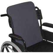 "Medline Standard Wheelchair Back Cushion, 18"" W, Latex-free"