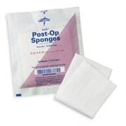 "Medline Sterile Post-op Gauze Sponges, 4"" x 4"" Size, 1200/Pack"