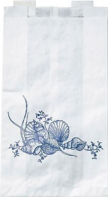 Medline Paper Bedside Bags, 6 1/2