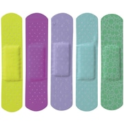 "Curad® Neon Adhesive Bandages, Neon, 3"" L x 3/4"" W, 50 Bandages/Box, 12 Boxes/Case"