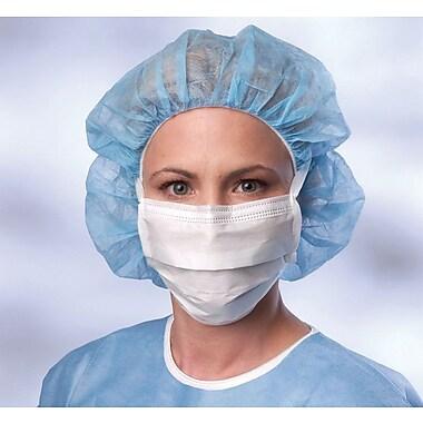 Medline Sensitive Skin Surgical Face Masks, White, 300/Pack