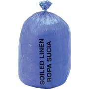 "Medline Soiled Linen Liners, Blue, 48"" L x 40"" W, 250/Pack"