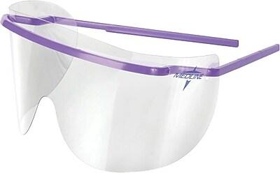 Medline Disposable Safety Glasses, Lens Only, 250/Box