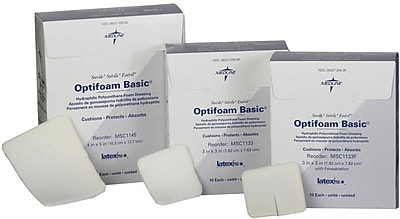 Optifoam® Basic Non-adhesive Dressings, 3