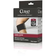 "Curad® Delux Tennis Elbow Compression Support Strap, Universal, 31"" L x 2 3/4"" W, Each"