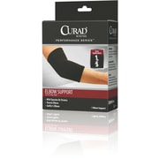 "Curad® Pull-over Elbow Supports, XL, 6"" L x 11 1/2"" W, 4/Pack"
