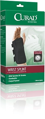 Curad® Left Wrist Splints, XL, Retail Packaging, Each
