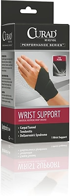 Medline Curad ORT19700D Universal Wrap-around Wrist Support 4/Pack