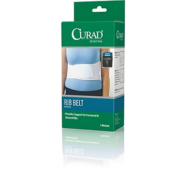 Curad® Female Rib Belt, Universal, 4/Pack