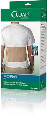 Curad® Universal Back Support, Beige, Universal, 33