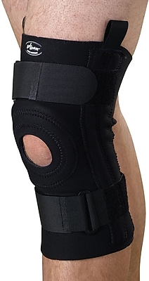 Curad® Knee Support with Removable U-buttress, Black, XL, Each