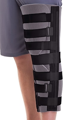 Medline Foam Cut-away Knee Immobilizers, Universal, 24