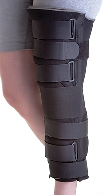 Medline Deluxe Foam Cut-away Knee Immobilizers, Universal, 24