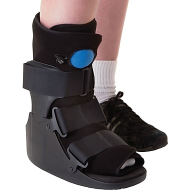 Medline Deluxe Pneumatic Ankle Walkers, Large