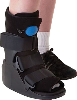 Medline Deluxe Pneumatic Ankle Walkers, XL
