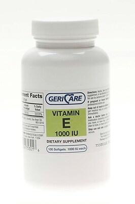 Generic OTC Vitamin E Softgels, 1000 IU