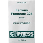 Generic OTC Ferrous Fumarate Tablets, 100/Box
