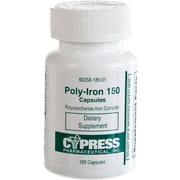 Generic OTC Polyiron Capsules, Box