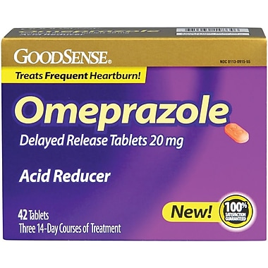 Medline - Equate OTC91555 Omeprazole Tablets 20 mg 42 Tablets/Box